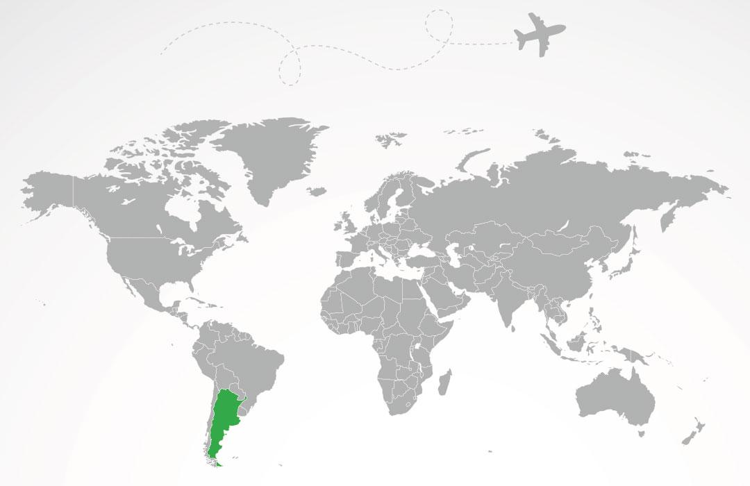 argentine-map